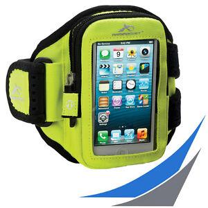 fuer-Smartphones-ARMPOCKET-AERO-i-10-Yellow-Sportarmband