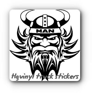 Man Viking Vinyl Decal Sticker For Truck For Walls Glass