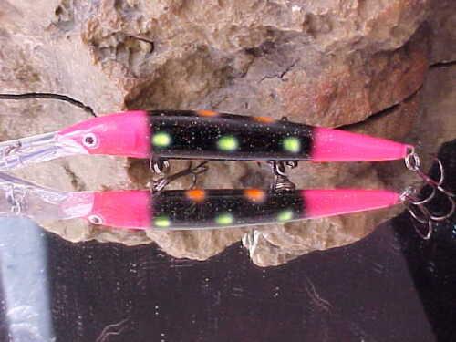 Warrior DHJ12-DHJ1117 UV Custom-Painted Rapala® Down Deep Husky Jerk for SALMON