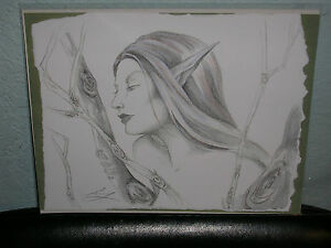 Amy Brown - Elf Maiden - OUT OF PRINT - VERY RARE