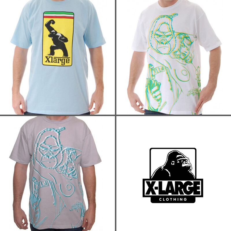 3 New XLARGE Premium T-Shirts Men's Size XL 60% Off  - Supreme Stussy Obey