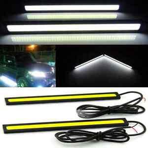 2x-Super-Bright-COB-White-Car-LED-Lights-for-DRL-Fog-Driving-Lamp-Waterproof-12V