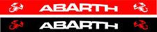 Sun Visor Strip Car Windscreen Vinyl Decal Motorsport Arbarth Red or Black