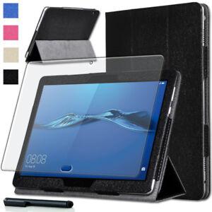 Taschen & Schutzhüllen Schutz Folie FÜr Huawei Mediapad M3 Lite 10 Tasche Case Smart Cover+pen-2 HÜlle