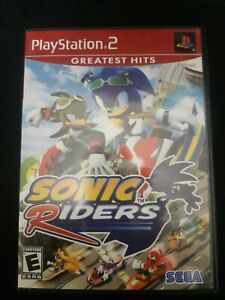 Sonic-Riders-Playstation-2-PS2-2006-Complete-With-Manual
