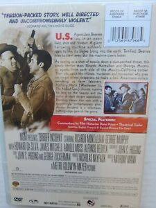 Border-Incident-The-Shame-Of-Two-Nations-DVD-1949-Movie-Film-Noir
