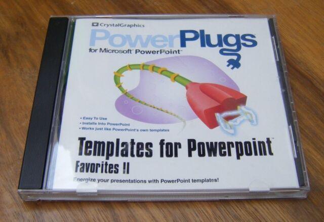 Powerplugs Templates For Microsoft Powerpoint Favorites 2 Ii Pc Cd