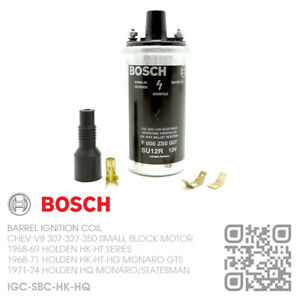 BOSCH-IGNITION-COIL-V8-SBC-307-327-350-MOTOR-HOLDEN-HK-HT-HG-HQ-amp-MONARO-GTS