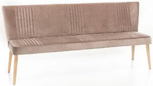 Standard-Furniture-Jennifer-Polsterbank-Sofabank-Samt-Sitzbank-gepolstert