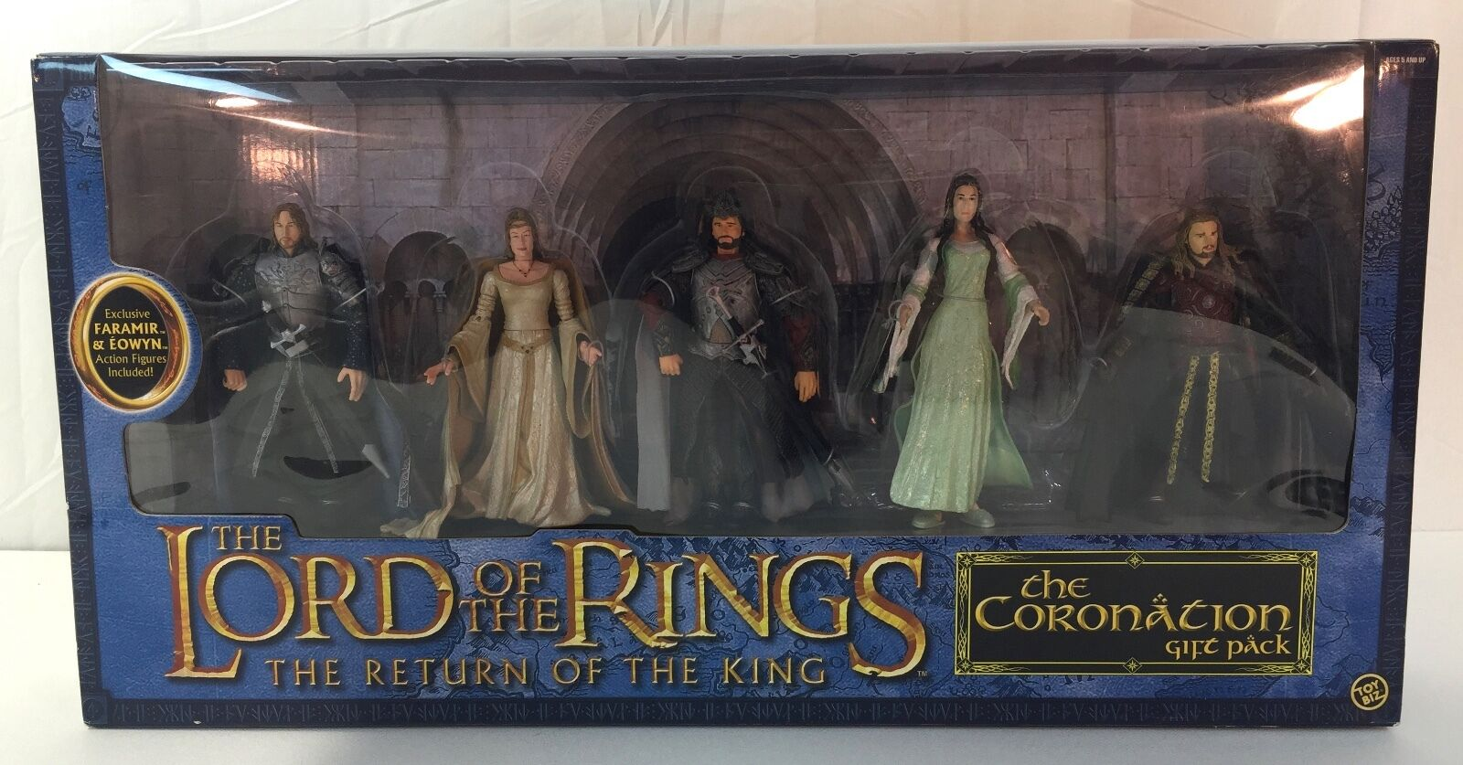 Toy Biz Lord of the Rings Return of the King Coronation GIFT SET MISB b