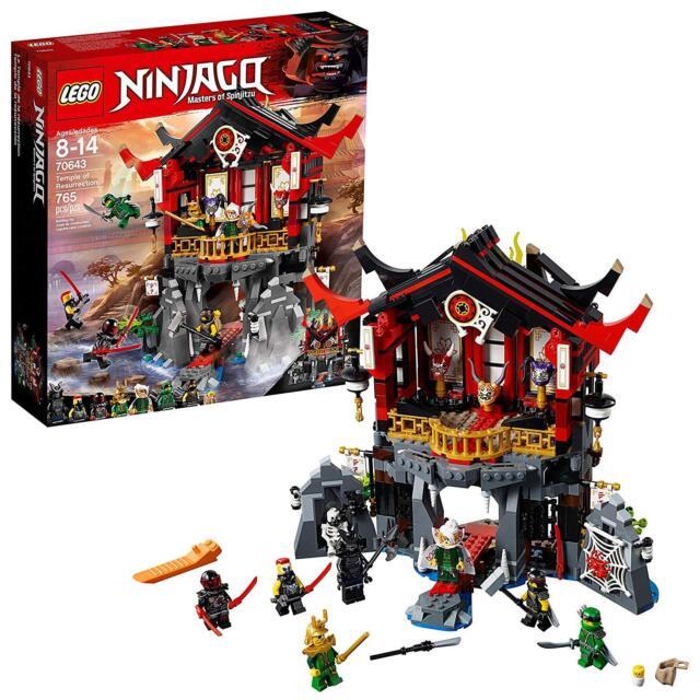 LEGO Ninjago 70643 Tempel der Auferstehung m Lloyd /& Mr Neu OVP E Harumi