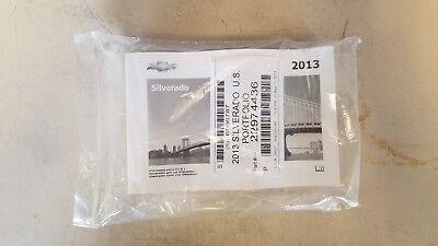2011 - 2014 Chevy Silverado 1500 2500 3500 Owner Manual ...2015 Silverado 3500 Manual