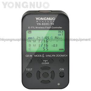 Yongnuo YN-622C-TX Wireless TTL Flash Controller for Canon 760D 650D 500D 450D