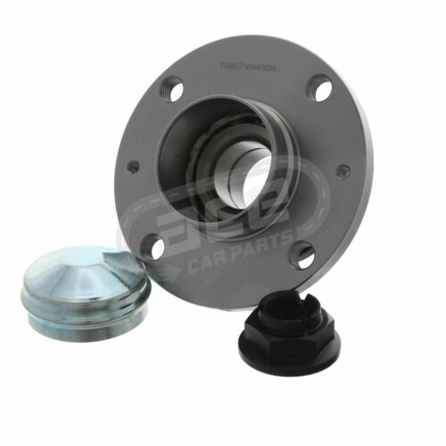 Vauxhall Corsa D Hatchback 2010-2015 Rear Wheel Bearing Hub With Rear Drums ABS