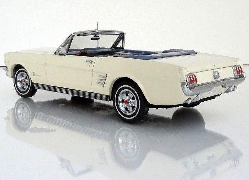 Mustang Ford 1 GT Race Sport Car 24 Vintage T 1967 40 Model 12 Carousel White 18