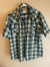 Wrangler Short Sleeve Snap Shirt Xl