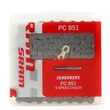 SRAM Pc-951 PowerChain II 9 Speed MTB Chain Bike Cycle Gold Joint Unboxed