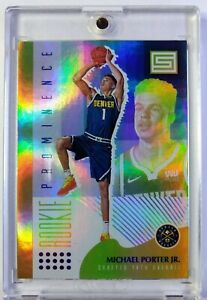 2018-19-Panini-Status-Rookie-Prominence-Michael-Porter-Jr-Rookie-RC-13-Nuggets