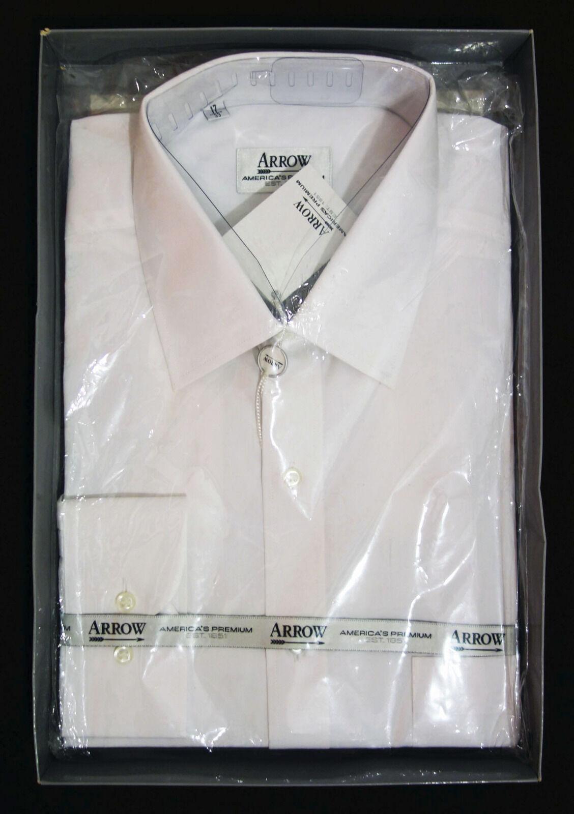 ARROW AMERICAS PREMIUM - BUSINESS HERREN HEMD - WEISS - GRÖSSE XL (43)     | Ästhetisches Aussehen