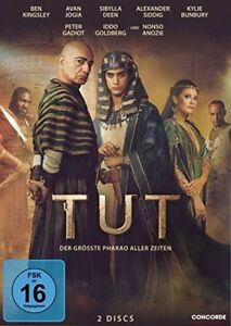 2-DVD-Box-TUT-der-groesste-Pharao-aller-Zeiten-komplette-Serie-NEU-amp-OVP
