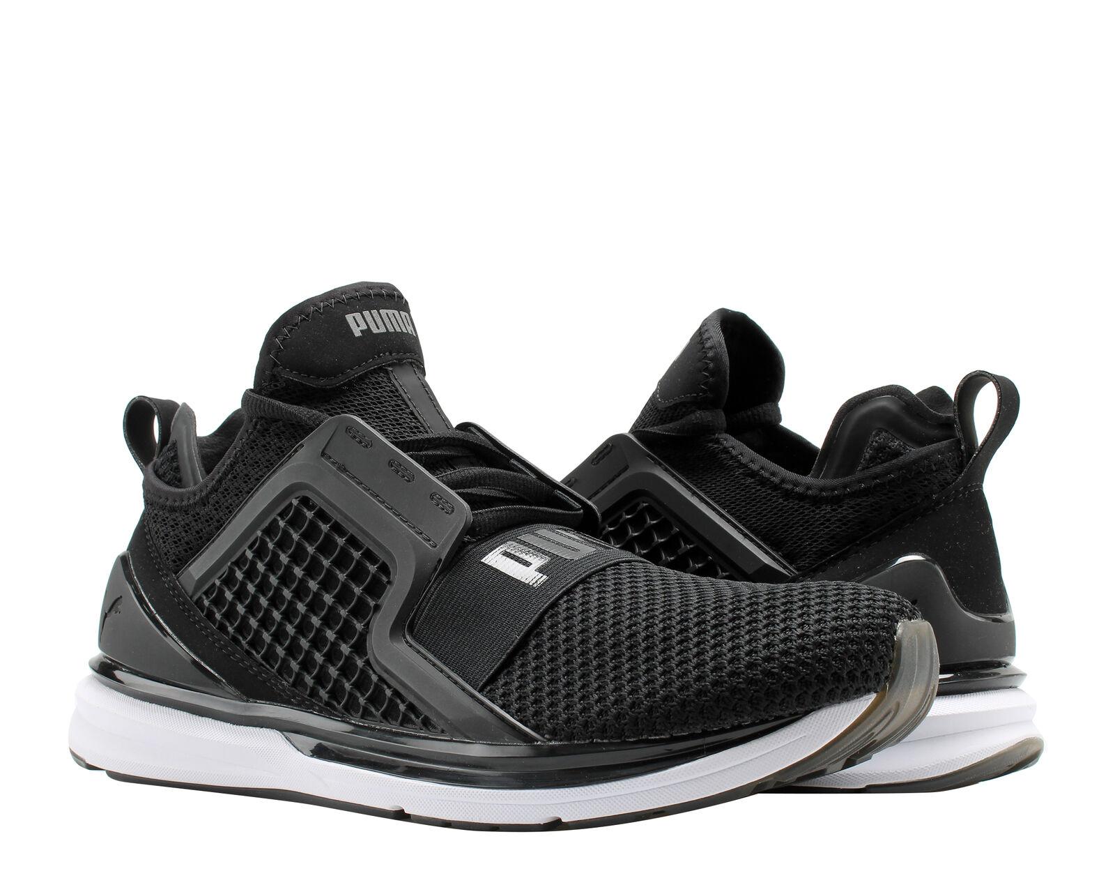 newest e4eb5 841ea Puma IGNITE Limitless Weave Puma Black/White Men's Running Shoes 19050302