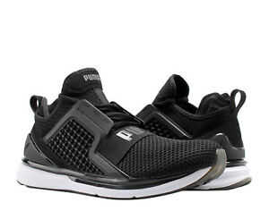 Puma IGNITE Limitless Weave Puma Black White Men s Running Shoes ... 5fed5c330