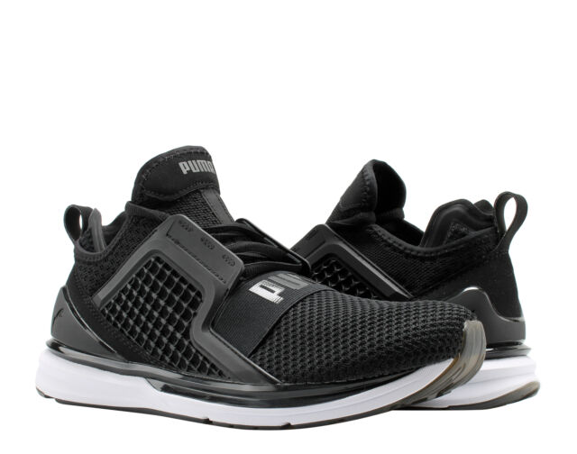 newest 2bb6d e5c57 Puma IGNITE Limitless Weave Puma Black/White Men's Running Shoes 19050302