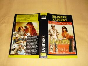 JAQUETTE-VHS-La-Gitane-Claude-Brasseur-Valerie-Kaprisky-Martin-Lamotte