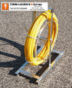 PIPEDART Cobra Reel Duct Rod 11 mm x 100 Metre
