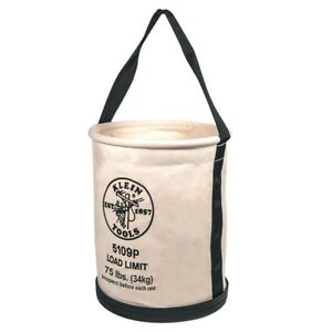 Canvas-Bucket-Bag-Tool-Storage-Organizer-Tote-15-in-Electrician-Lineman-Bucket