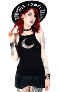 Restyle-Mesh-Crescent-Moon-Lunar-Punk-Rocker-Emo-Gothic-Witch-Tank-Top-Shirt