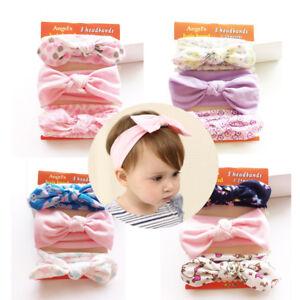 Image is loading 3PCS-Set-baby-girls-elastic-headbands-Knotted-Headwear- 96abc6e721f