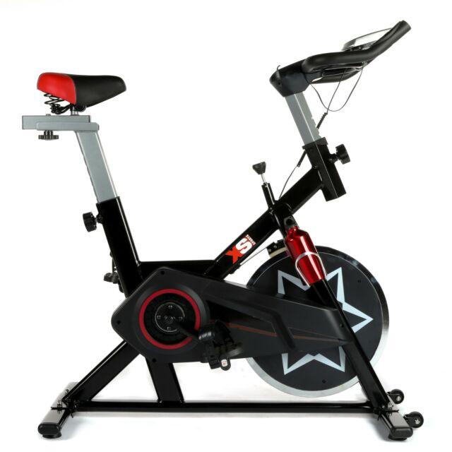 XS Sports SB350 Aerobic Indoor Studio Bike-Training Fitness-With tablet holder