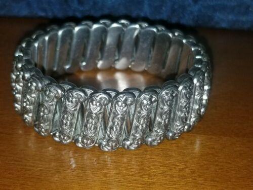 Vintage Sterling Silver Sweetheart Expansion Brace