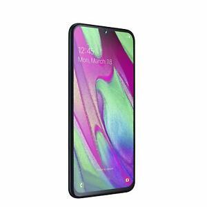 "Samsung Galaxy A40 (2019) Smartphone Nero Display 5,9"" 64 GB Esp.DUAL SIM BRAND"