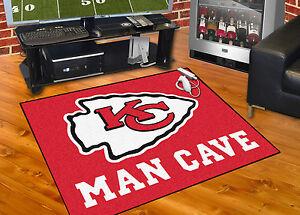Kansas City Chiefs Man Cave 34 X43 All