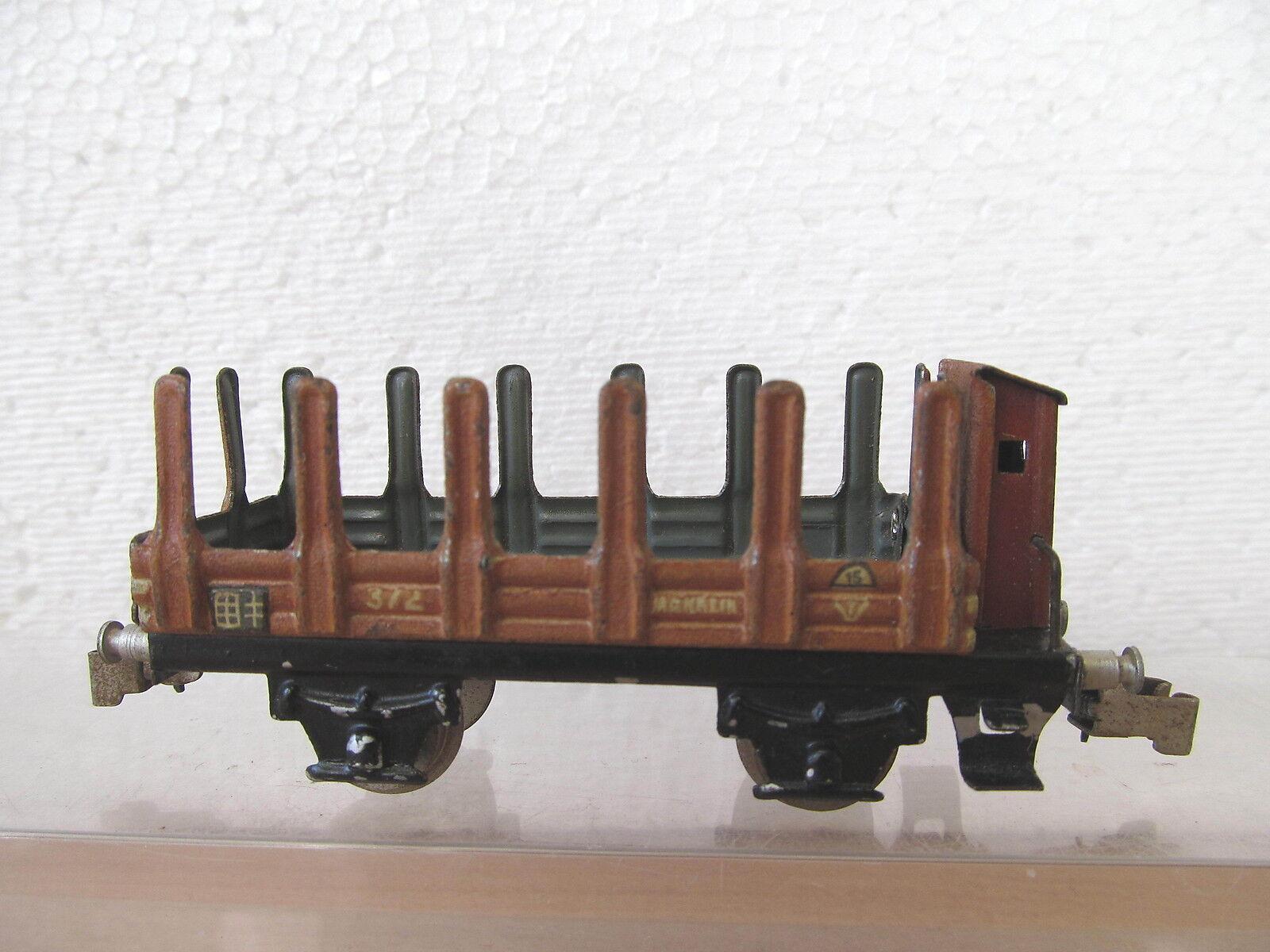 Mes-34726 età   h0 Rungenwagen 372 segni di usura/farbschäden,