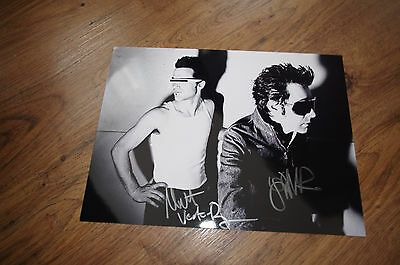 In Style; Heavy Trash Jon Spencer Signed 8x11 Inch Autograph Photo Inperson In Germany Fashionable