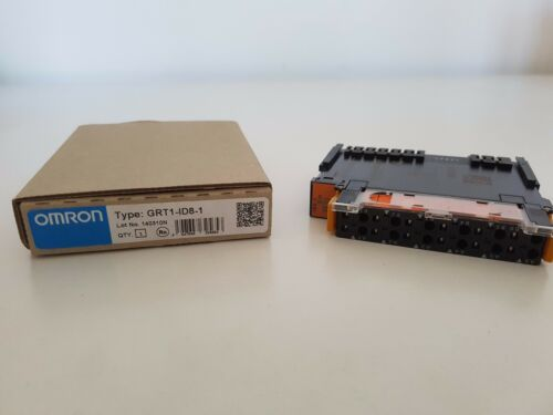 OMRON GRT1ID81 Digital Input Unit 8 PNP Inputs 11 25VDC 4A Smart Slice