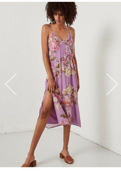 NWT Spell och den zigenerska vackra lila klänningen.M -L