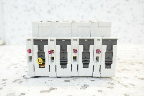 5ST3010AS HILFS set of 4 4x SIEMENS 5SY41 MCB A4 LEITUNGSSCHUTZSCHALTER