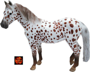 *New with tag* Horse Toy Model by CollectA 88750 BRITISH SPOTTED PONY MARE