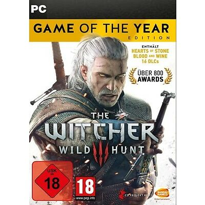 The Witcher 3 Wild Hunt Game of the Year Edition PC GOG Key (kein Steam) GOTY