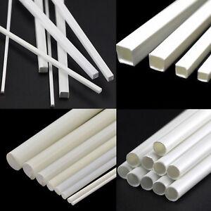 Acetal Rod 5-15mm Black//White Plastic Round Bar Engineering Billet Spacer