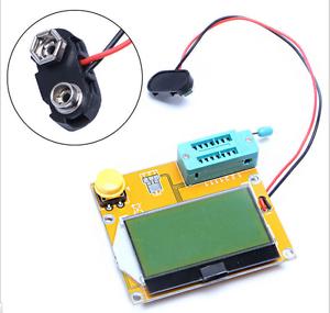 LCR-T4-ESR-Metre-Transistor-Testeur-MOSFET-Diode-Triode-Condensateur-SCR