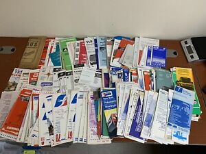 Huge-Lot-Of-Roughly-300-Bus-Timetables-From-1947-1990-s-Tons-Of-Variety