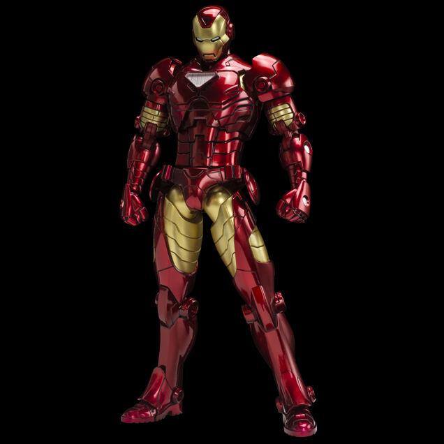 SENTINEL ARMORIZE IRON MAN TONY STARK METALLIC METALLIC METALLIC Farbe VERSION 18cm NUOVO NEW 39cf60