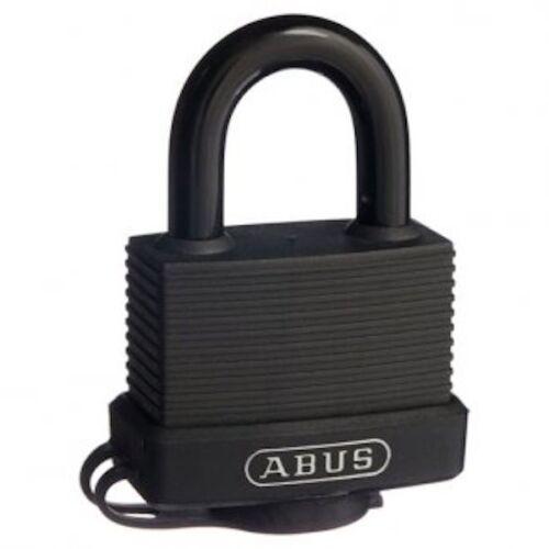 FREE POST ABUS Outdoor Weatherproof 45mm Padlock With 2 Keys