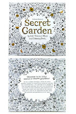 Set Of 4 Mini Adult Coloring Book Color Therapy Anti Stress Relief Color Therapy