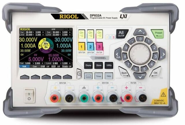 RIGOL DP832A 3-channel Programmable DC Power Supply